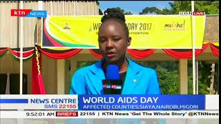 Kenya marks World AIDS Day with a campaign dubbed  'Youth na Plan' at Nairobi University