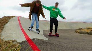 Hoverboard RACING!