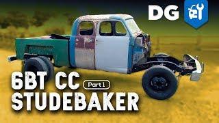 5.9 Cummins swapped EXT CAB Studebaker Transtar [EP1]