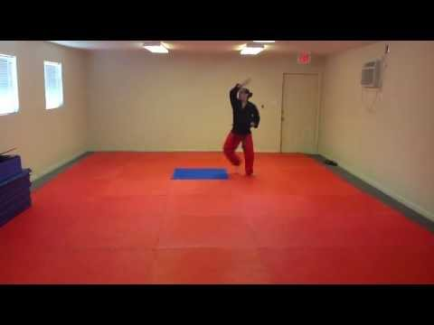 Hwa-Rang Tae Kwon Do Form - Front View Slow