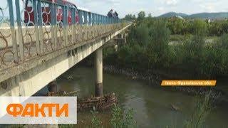 Может обвалиться в любую минуту: на Прикарпатье разрушается мост