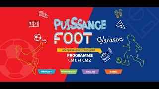 Puissance Foot - Cahier Pédagogique CM1/CM2