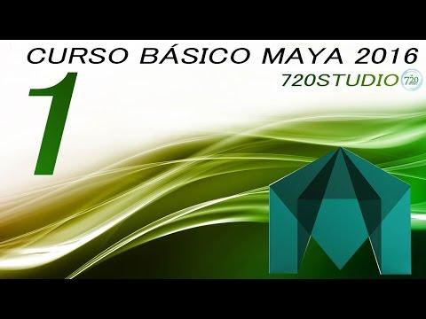 Curso Básico Maya 2016 Parte 1 – Tutorial Para Principiantes – En Español