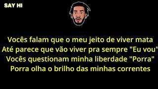 (LETRA) BK'   Antes Dos Gigantes Chegarem Feat. Juyè & Luccas Carlos