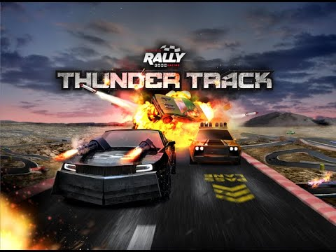 Bower's Game Corner: Turbo Rally Card Racing: thunder Track Preview