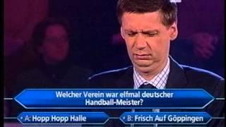 Die Harald Schmidt Show - Wer Wird Millionär - Günther Hat Schauspieltalent