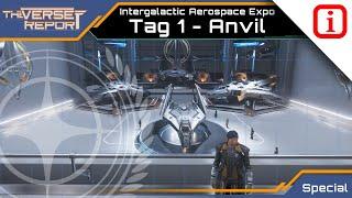 Star Citizen 3.3.6 Int. Aerospace Expo - 1: Anvil Aerospace   Verse Report Special [Deutsch/German]