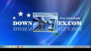 Gambar cover How to download and install Free MP3 Rocket on www.downloadplex.com