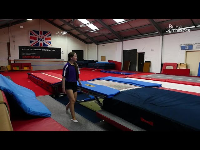 British Gymnastics clubs begin to step forward after lockdown