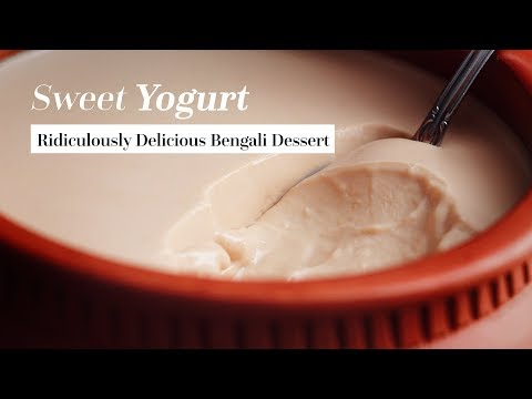 Best Bengali Sweet Yogurt ( Misti doi ) Recipe on the Internet