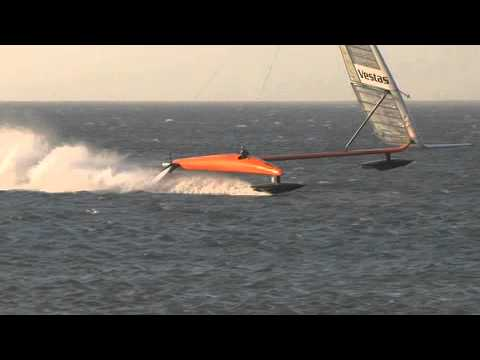 Watch This Insanely Speedy Sailboat Smash A World Record