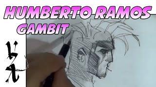 Humberto Ramos Drawing Gambit