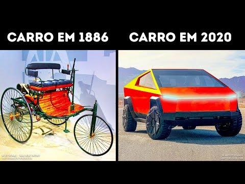 A evolução dos carros em um século