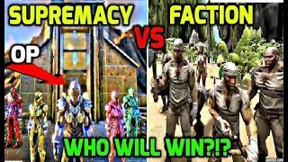 - WHEN MEGA ARK ALLIANCES CRUMBLE - SUPREMACY VS FACTION + ARK RAP -OFFICIAL PVP - Feat. FATBOYDAN4