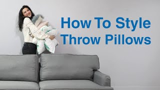 How To Style Throw Pillows | MF Home TV