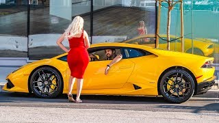 PICKING UP UBER RIDERS IN A LAMBORGHINI HURACAN PRANK 3! | HoomanTV