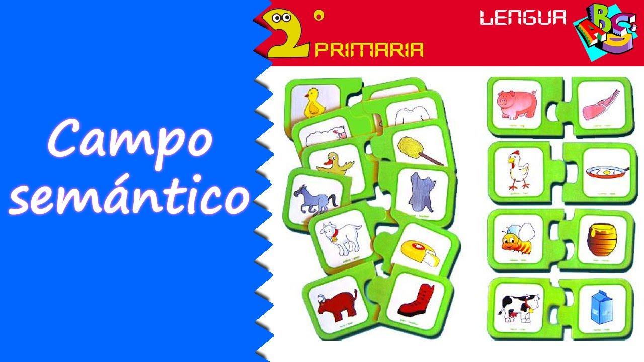 Lengua Castellana. 2º Primaria. Tema 10. El campo semántico