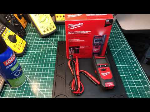 (The New) Milwaukee Auto Voltage/Continunity Tester w/ Resistance  ( 👍🏿🤙👍🏿🤙)