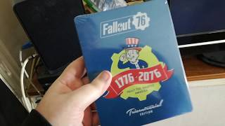 Fallout 76 Collector's Edition Unboxing (Buyer's Remorse Edition)