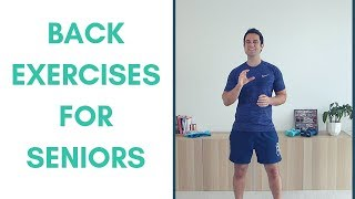 Lower Back Exercises For Seniors - Simple Lumbar Spine Exercises
