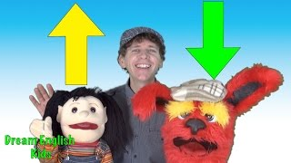 Up Down Song ♫ And Lesson For Kids | Preschool, Kindergarten, Learn English