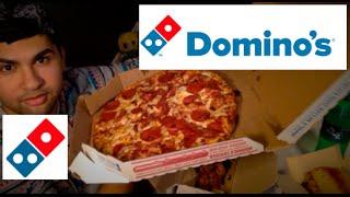 ME EATING DOMINO'S MUKBANG - Video Youtube
