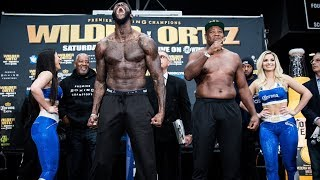 Wilder vs. Ortiz: Weigh-In | SHOWTIME CHAMPIONSHIP BOXING