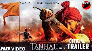 Exclusive Tanhaji Trailer Release ON 19 NOV || Aajy Devgn, SaifAliKhan,