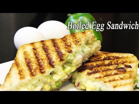 Crispy Egg Sandwich | Quick BreakFast Recipe | How to make Egg Sandwich | Ep – 600