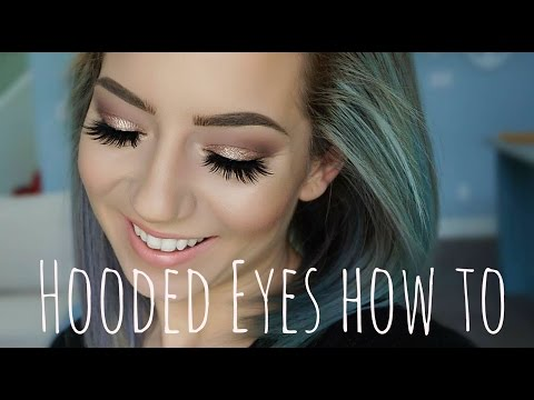 Hooded Eyes Eyeshadow Tutorial | Chill & Chat