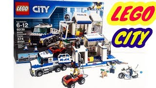 LEGO ToyTRUCKS UNBOXING. LEGO CITY 60139  Mobile CommandCenter