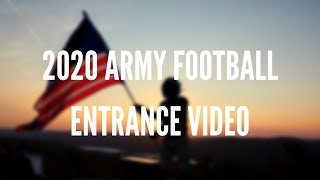2020 Army West Point Football Entrance Video