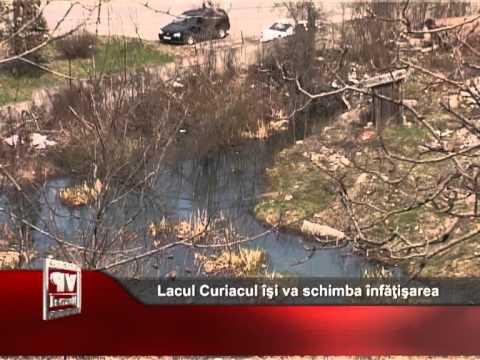 Lacul Curiacul îşi va schimba înfăţişarea