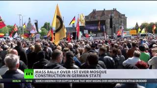 'No mosques in Germany!' Mass rally against Muslim houses of worship in Thuringia