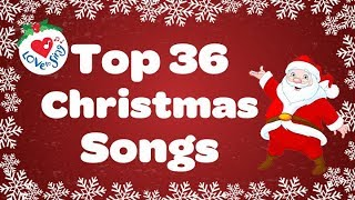 Top 36 Popular Christmas Songs and Carols Playlist 🎅