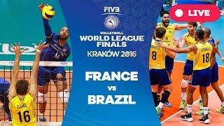 France v Brazil - Group 1: 2016 FIVB Volleyball World League