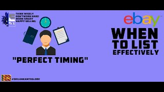 Perfect Timing - When to List Fixed Format Listings Effectively