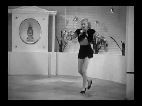 "Follow The Fleet (1936) – ""Let Yourself Go"" – Ginger Dances Alone"