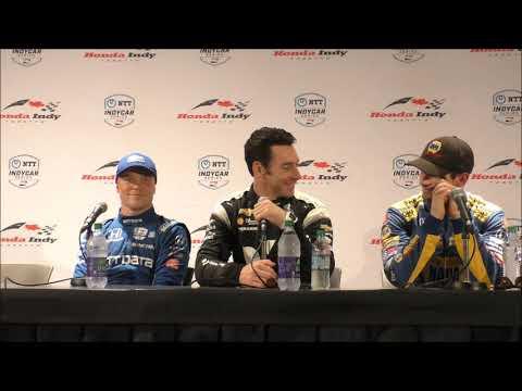 2019 IndyCar Toronto post-qualifying Q&A