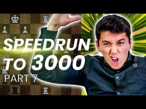 GM Eric Hansen BLITZ SPEEDRUN to 3000 | 2700-2850