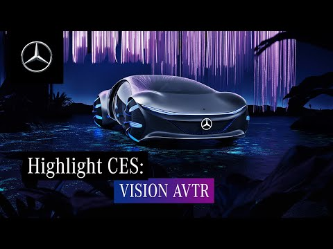 Highlights of CES 2020 – Mercedes-Benz VISION AVTR