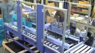 フラップ折込み機構付調整型ダンボール封緘機 ワークメイト51Long(セキスイ)