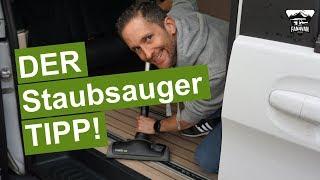 """Richtig Staubsaugen im Wohnmobil / Camper - der """"große"""" Staubsauger - Tipp"""
