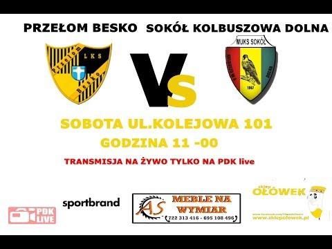 Liga Juniorów na żywo: Przełom Besko - Sokół Kolbuszowa Dolna [TRANSMISJA WIDEO]
