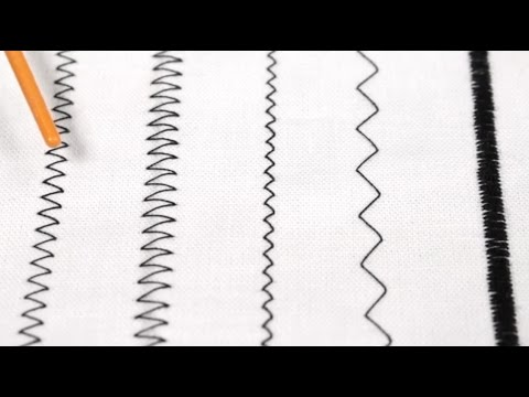 How To Sew a Zig Zag Stitch