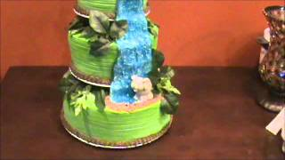 Jungle Themed Baby Shower Cake - Made By NaturallyThriftyMom