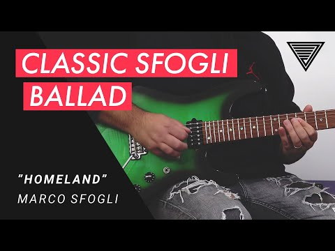 Marco Sfogli - Plays the ballad 'Homeland' in full with Elixir Strings