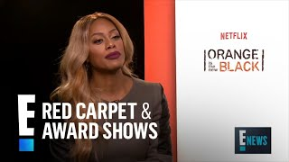 """Laverne Cox Plays """"Who's Most Likely"""" With """"OITNB"""" Costars   E! Live from the Red Carpet"""