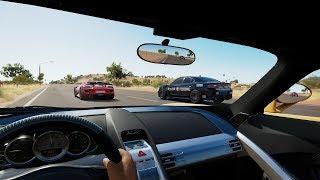 Forza Horizon 3:1200HP Carrera GT Runs w/ 918 Spyder, Hellcat Police Cruiser & More