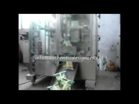 Automatic Washing Powder Pouch Packing Machine